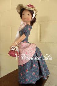 Conheçam as bonecas dessa artista chamada Claudia Lis e se encante com o blogue dela . Onde irá encontrar lindos tutoriais. Visite Labores ...