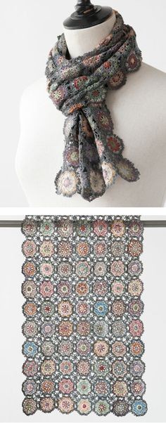Sophie Digard crochet scarf