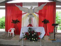 decoracion de iglesias para celebracion de corpus - Buscar con Google