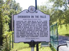 Evergreen on the Falls, Baltimore City