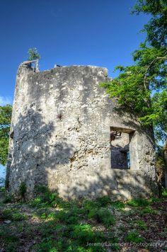 Blackbeard's Tower, Nassau, New Providence, Bahamas.