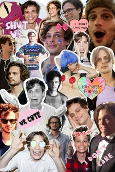 Matthew Gray Gubler- Dr. Spencer Reid