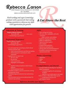 creative cosmetology resume creative cosmetology resume we provide as reference to make correct and good
