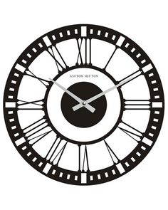 Make a fake wall clock out of black poster board for a backdrop for decor or photo's.