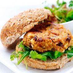 These burgers contain beans, peanuts and curry. What's there not to love? Get the recipe at Redonline.co.uk