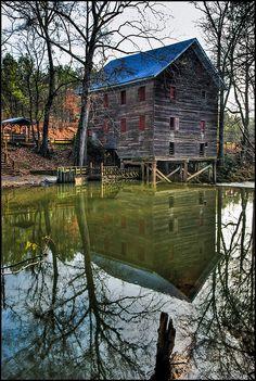 Kymulga Grist Mill (1860's) Talladega County, Alabama