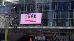 Il #display con il #countdown a #expo2015 #expo365