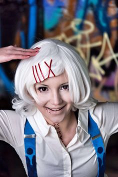 Hello! I cosplayed two weeks ago Juuzou Suzuya from Tokyo Ghoul. I Love it! Thank you everyone! Here's photo about my makeup.