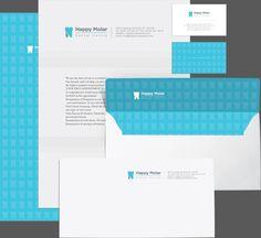 Dental Centre Identity Design by Shahrokh Moeini, via Behance