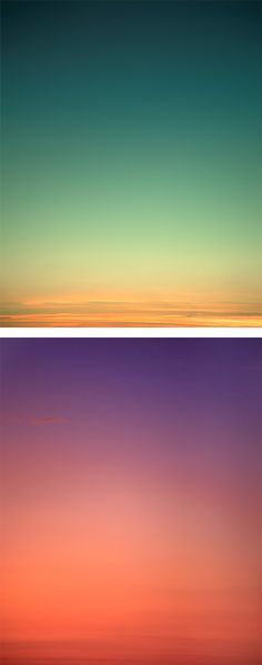 Sky Series: Photography by Eric Cahan | Inspiration Grid | Design Inspiration