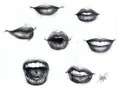 Resultado de imagen para mouth sketch