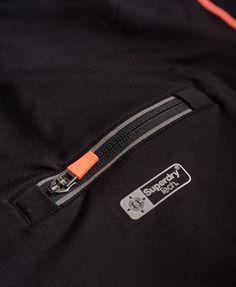 Superdry Gym Tech Panelled Zip Hoodie
