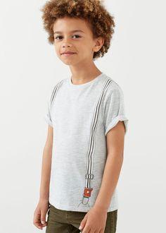 T-shirt en coton imprimé -  Enfants | MANGO Kids France