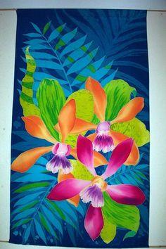 Sissi Siska silk painting
