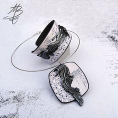 polymer jewelry - Martina Buriánová - my technique - Ragged