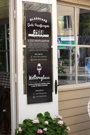 Gula paviljongen - miljötänkande glasscafe i Hjo. #icecream #cafe #sign