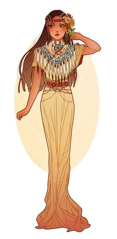 Pocahontas_art_nouveau_costume_designs_iv_by_hannah_alexander- on imgfave