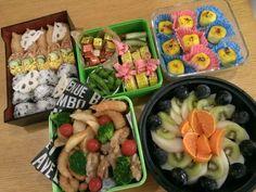 Ayumi's dish photo 2016運動会弁当   運動会  運動会弁当 | http://snapdish.co #SnapDish #お弁当 #お昼ご飯 #運動会 #こどもが大好きな料理