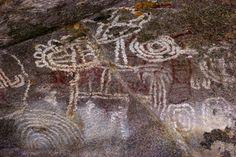 Photo Gallery: Our Favorite Aruba Eco Attractions | Arawak Cave Paintings at Arikok National Park, Aruba www.greenglobaltravel.com