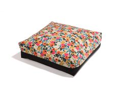 """Pet Bed  - """"The Slumber Party"""" - Garden Floral Print by sweetpicklesdesigns on Etsy https://www.etsy.com/listing/488477805/pet-bed-the-slumber-party-garden-floral"""