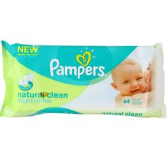 BARGAIN Pampers Natural Clean Wipes – (Pack of 12) (768 Wipes) LOWEST EVER PRICE £10.50 At Amazon - Gratisfaction UK Flash Bargains #flashbargains #baby #gratbaby