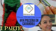 #14 PULSERA EN CAVANDOLI MACRAME ❣DIY CAVANDOLI MACRAME BRACELET ❣ NA PU...