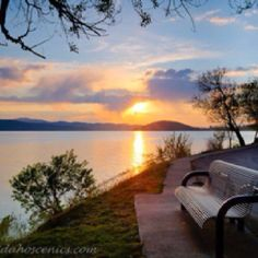 Beautiful Lake Coeur d' Alene Idaho