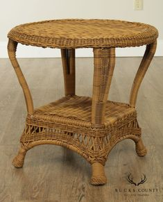 Wicker Side Table, Round Side Table, Victorian Fashion, The Originals, Outdoor, Furniture, Home Decor, Products, Style