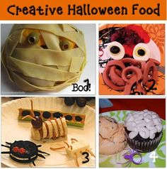 Halloween creative party food ideas