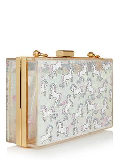 Glitter Unicorn Clutch Bag