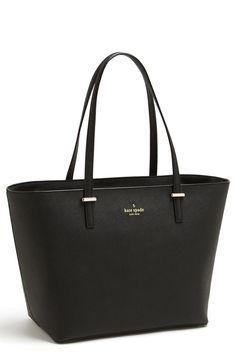 A chic black tote is a must!