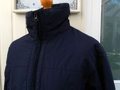 c5eb6737b Fred Perry Navy Fleece Line Sailing Jacket - M/L/XL - 44