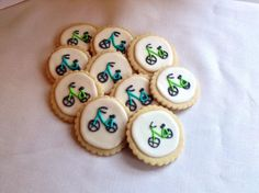 Bicycle sugar cookies