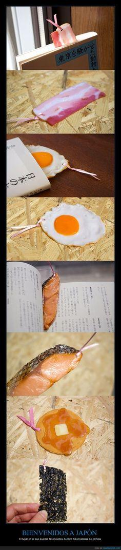 8 puntos de libro japoneses que parecen comida - El lugar en el que puedes tener puntos de libro hiperrealistas de comida   Gracias a http://www.cuantarazon.com/   Si quieres leer la noticia completa visita: http://www.estoy-aburrido.com/8-puntos-de-libro-japoneses-que-parecen-comida-el-lugar-en-el-que-puedes-tener-puntos-de-libro-hiperrealistas-de-comida/