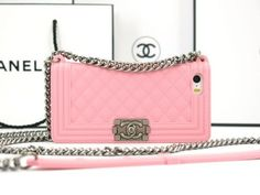 Chanel Iphone 6 plus case-pink by 33434 on Etsy