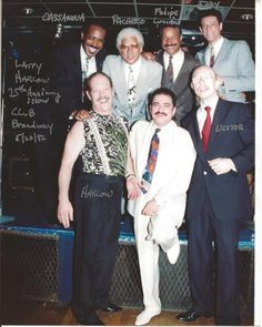 Larry Harlow Anniversary show Club Broadway Picture from Izzy Sanabria FB page Salsa Musica, All Star, Puerto Rico History, Latin Music, Puerto Ricans, 25th Anniversary, Music Artists, Larry, Entertaining