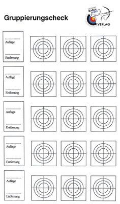 Trainings-Formulare zum kostenlosen Download | Deutscher Bogensportverlag