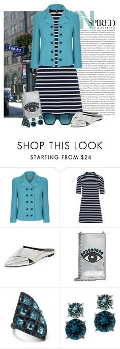 """Untitled #477 aug/25/17 9:53pm"" by riuk ❤ liked on Polyvore featuring Oris, Armani Collezioni, French Connection, Sigerson Morrison, Kenzo, Palm Beach Jewelry, Anne Klein and Tod's"