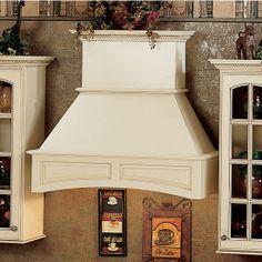 framing a wood range hood vent cover | crown mantle hood kitchen