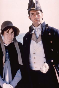 Amanda Root (Anne Elliot) and Ciarán Hinds (Captain Frederick Wentworth) - Persuasion directed by Roger Michell (1995) #janeausten