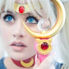 When I'm sailor moon, I can do anything  Photo by Leonard L at #animeexpo2015  @eyecandyscom contacts