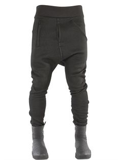 DEMOBAZA NEO FIT NEOPRENE JOGGING PANTS, BLACK. #demobaza #cloth #pants