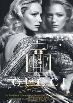 Blake Lively in Gucci's new fragrance ads