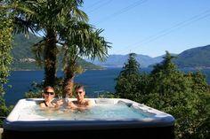 Tessin Schweiz Brissago Tub, Outdoor Decor, Environment, Real Estates, Switzerland, Bath Tub, Soaking Tubs, Tupperware, Bathtub