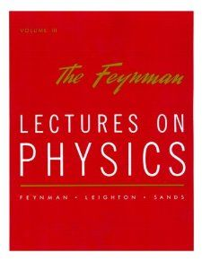 The Feynman Lectures on Physics, Vol. 3 by Richard P. Feynman (Author), Robert B. Leighton (Author), Matthew Sands (Author). For greater than thirty years, Richard P. Feynman's three-volume Lectures on Physics has been known worldwide as the classic useful resource for college kids and professionals alike. Starting from essentially the most primary rules of Newtonian physics via such formidable theories as Einstein's general relativity, superconductivity, and quantum mechanics,