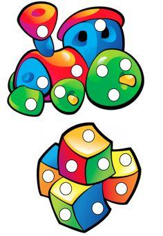 Пластилиновые заплатки - Children-Box.ru Color Activities, Activities For Kids, Crafts For Kids, High Scope, Do A Dot, Color Games, Kindergarten Fun, My Little Baby, Baby Play