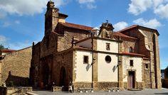 Igelsia de los Padres Franciscanos donde reposa Pedro Menéndez de Avilés