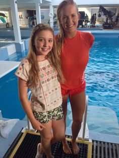Two awesome Christians: Cozi Zuehlsdorff (left) and Bethany Hamilton (right).