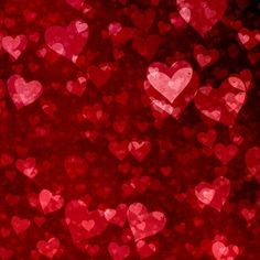 Valentine's day background with hearts d. Valentines Day Background, Happy Valentines Day, Heart Poster, S Pic, Bokeh, Free Photos, Design, Valentino, 3d Rendering