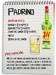 Padrino: cóctel con whisky